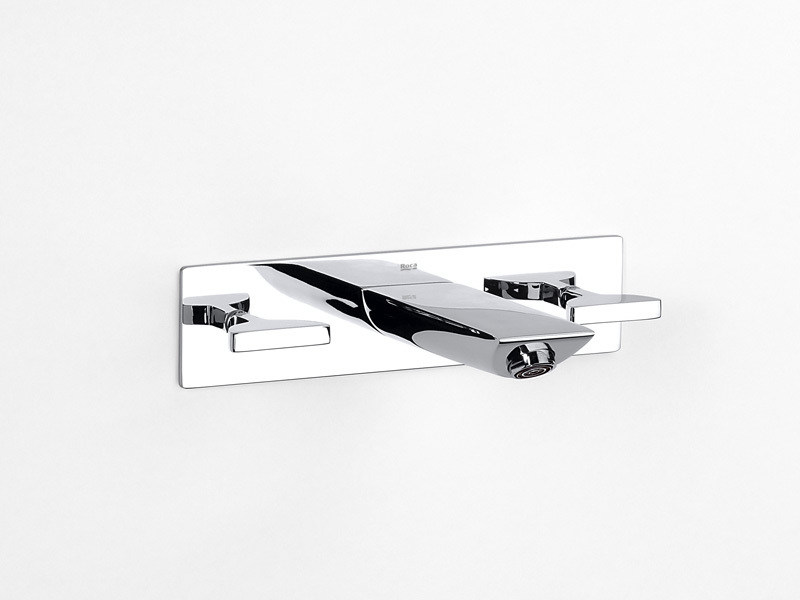 3 hole wall-mounted washbasin tap TOUCH | 3 hole washbasin tap - ROCA SANITARIO