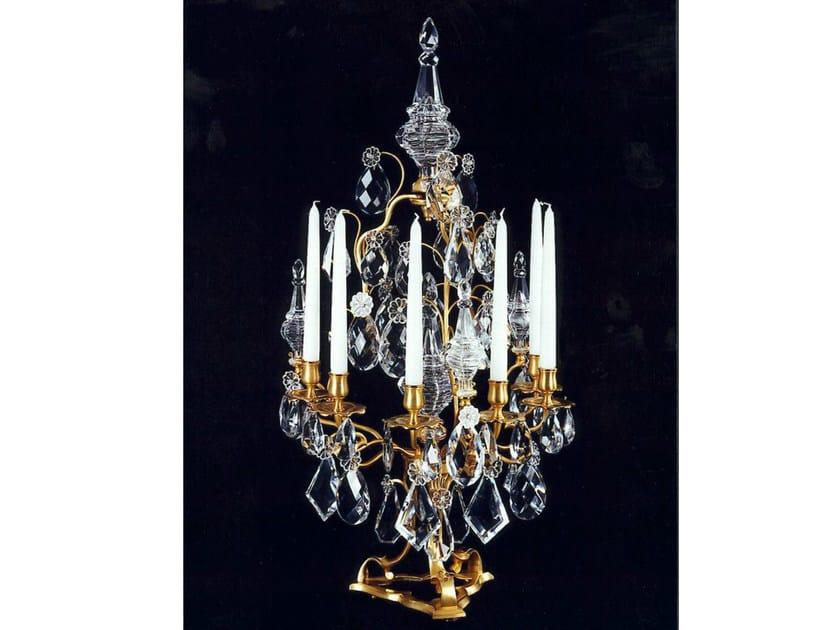 Crystal candlestick 465SE | Candlestick - Tisserant