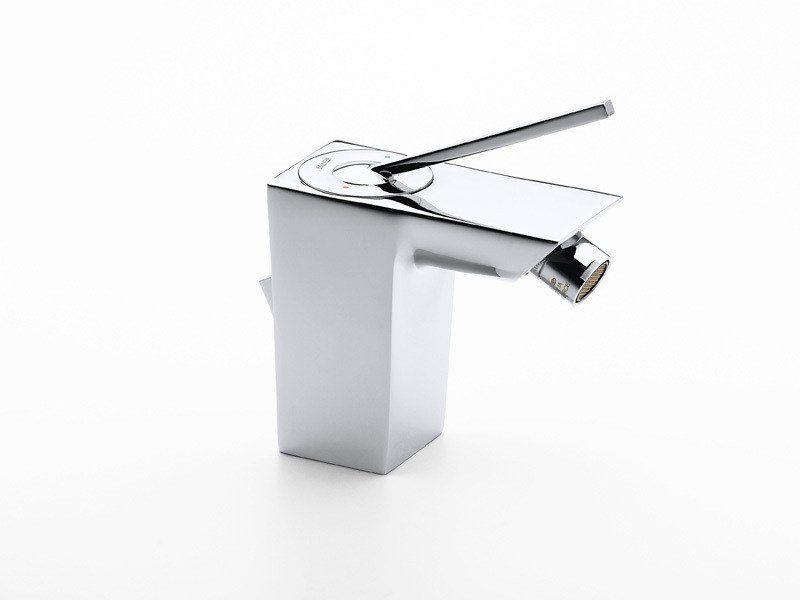 Chrome-plated bidet mixer with aerator TOUCH | Bidet mixer by ROCA SANITARIO