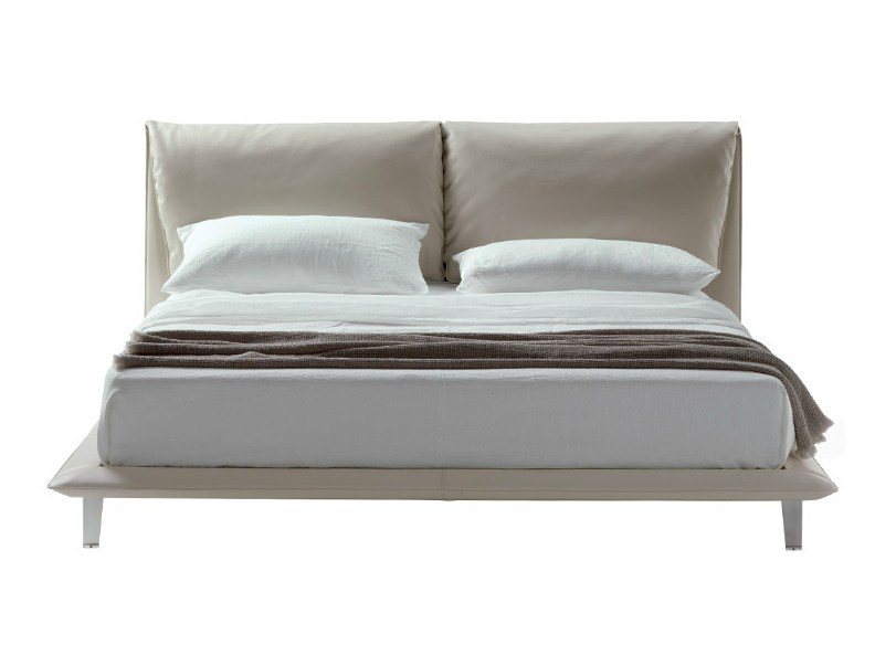 Double bed JOHN-JOHN BED by Poltrona Frau