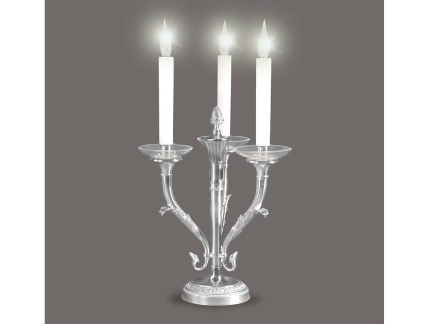 Bronze candlestick 468   Candlestick by Tisserant