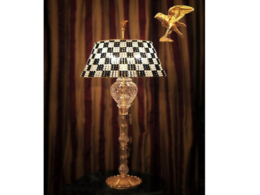 Crystal table lamp 470 | Table lamp - Tisserant
