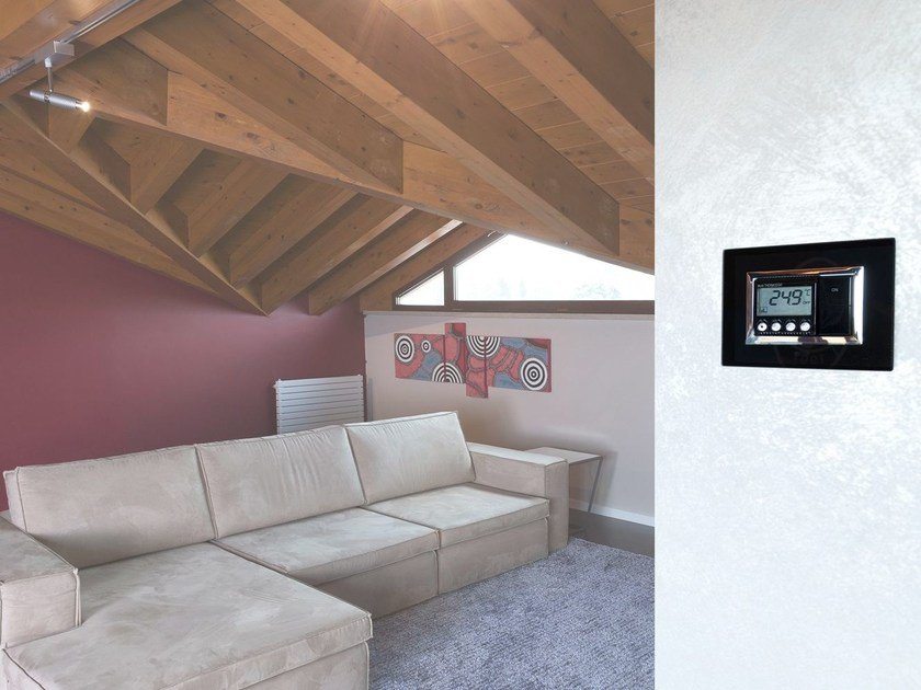 Home automation system for HVAC control for households DOMINAplus | Thermoregulation - AVE