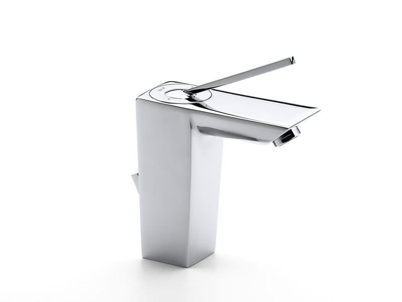 Chrome-plated 1 hole washbasin mixer TOUCH | Chrome-plated washbasin mixer - ROCA SANITARIO