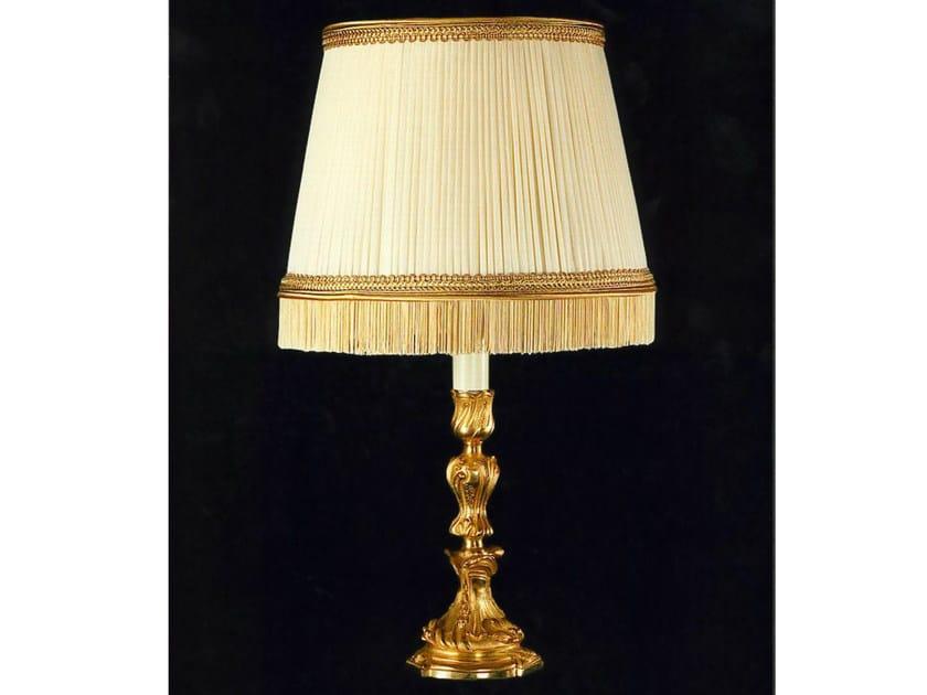 Bronze table lamp 600   Table lamp - Tisserant