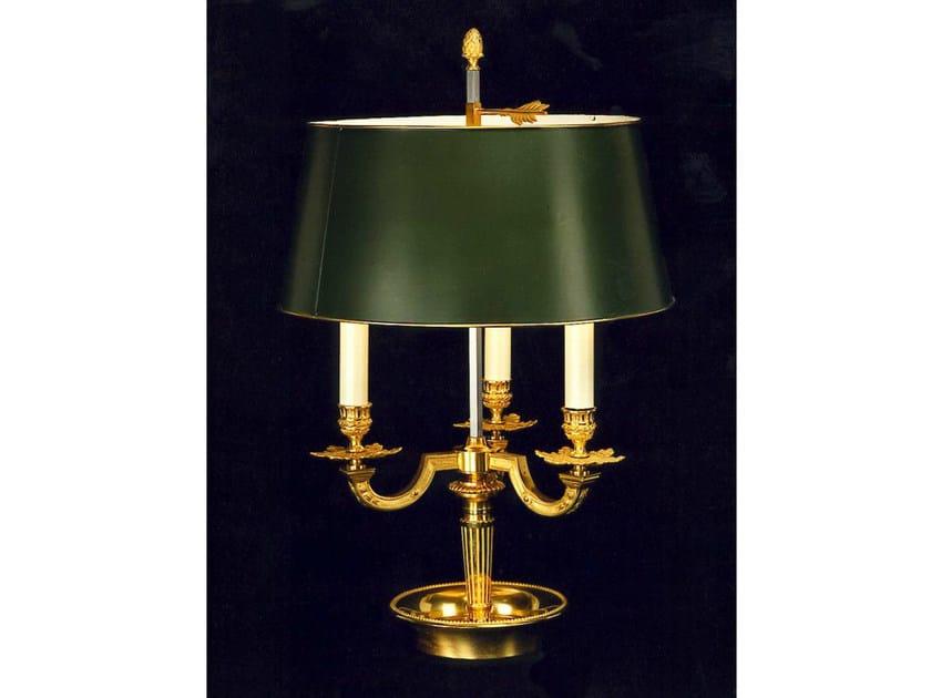 Bronze candlestick 689 | Candlestick by Tisserant