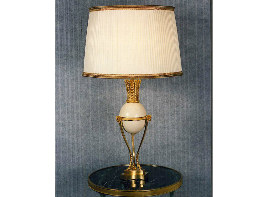Bronze table lamp 713BIS | Table lamp - Tisserant