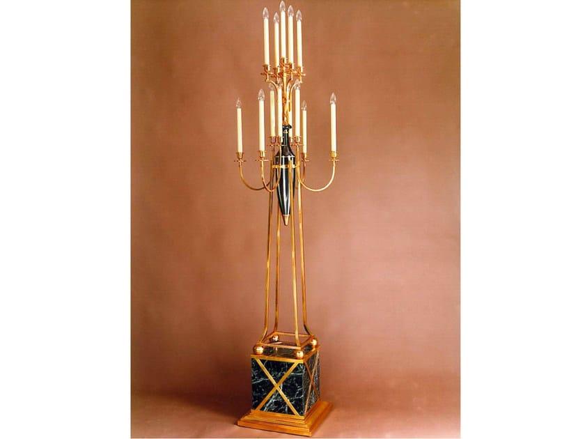 Bronze candlestick 850 | Candlestick by Tisserant