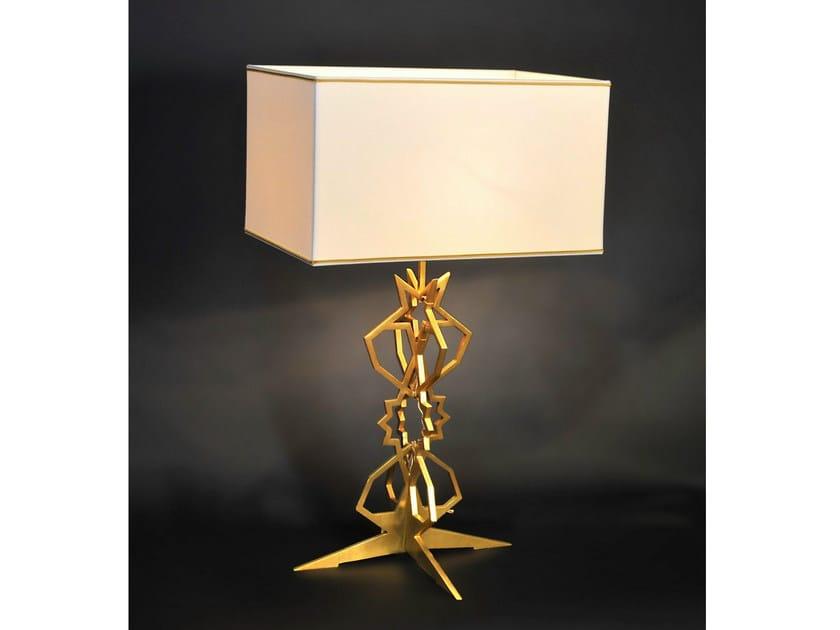 Bronze table lamp 841 | Table lamp - Tisserant