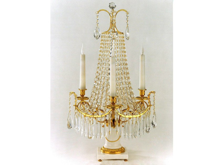 Crystal table lamp 990 | Table lamp - Tisserant