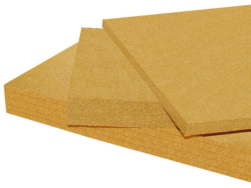 Wood fiber Natural insulating felt and panel for sustainable building PAVAWALL - Pavatex