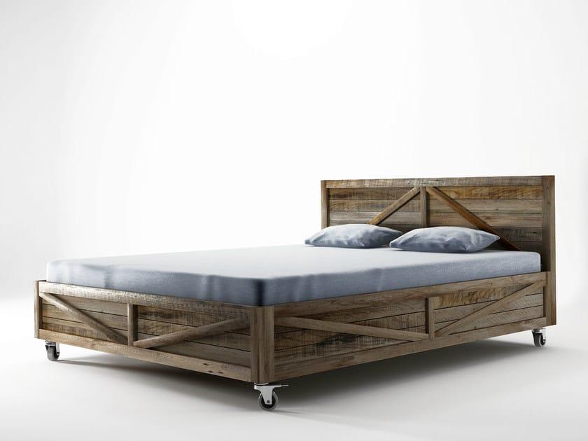 Krate letto queen size by karpenter - Dimensioni letto queen size ...