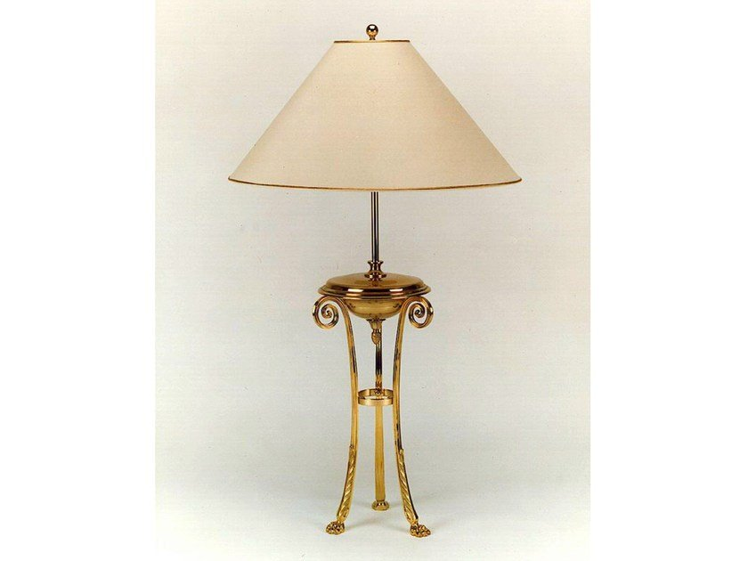 Bronze table lamp 250 | Table lamp - Tisserant