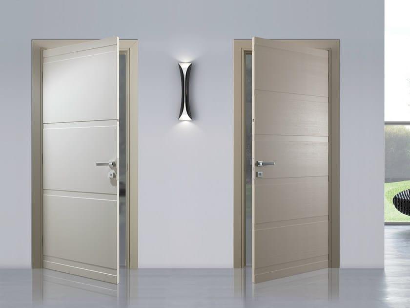 Porta a battente laccata fashion bertolotto porte - Porte interne bianche ...