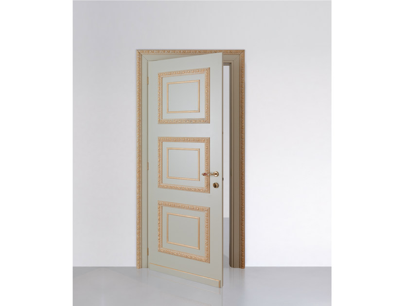 Hinged lacquered door VENEZIA GOLD - Bertolotto Porte