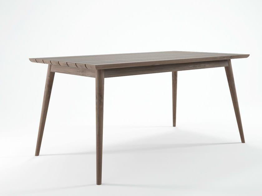 Teak garden table VINTAGE OUTDOOR | Wooden table - KARPENTER