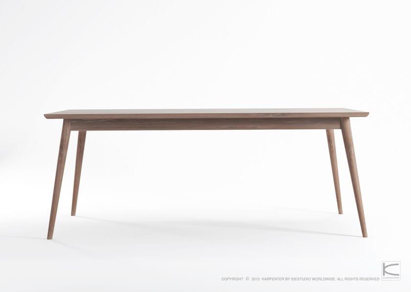 Tavolo da giardino in teak in stile scandinavo vintage - Tavolo scandinavo ...
