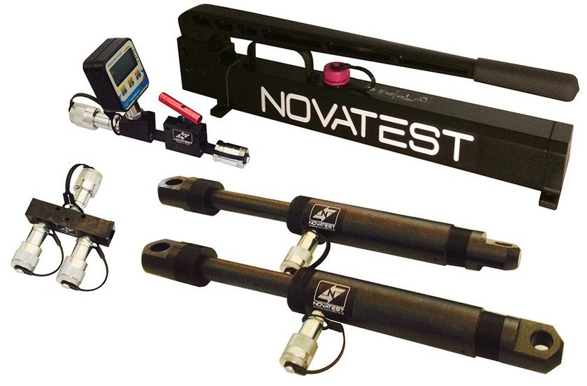 Measurement, control, thermographic and infrared instruments KIT PROVE DI CARICO A TRAZIONE - NOVATEST