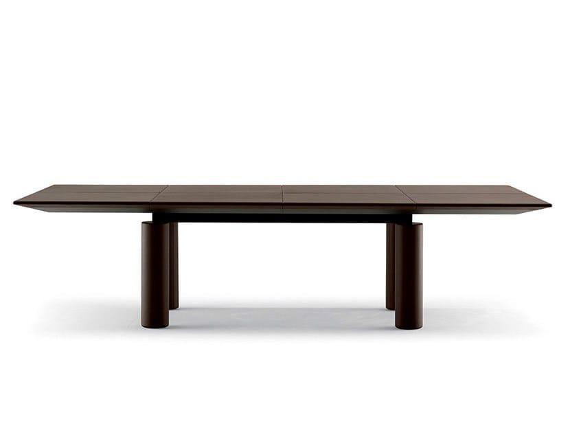 Rectangular meeting table C.E.O. CUBE MEETING | Rectangular meeting table - Poltrona Frau
