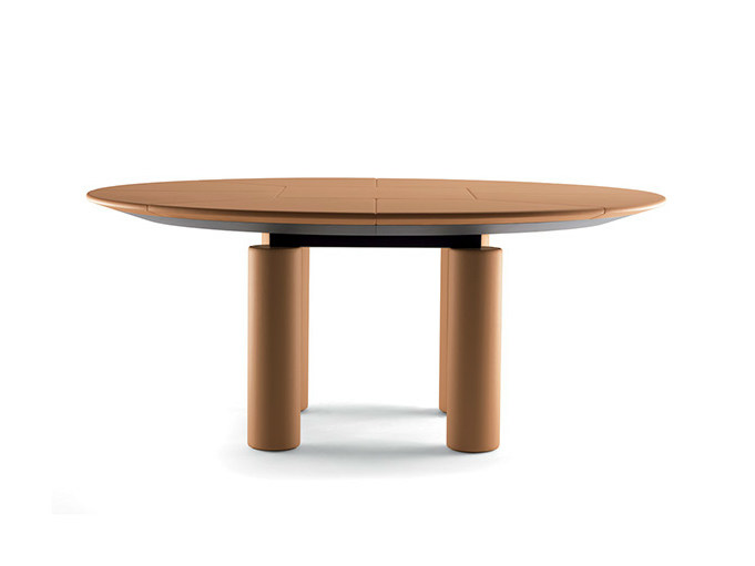 Oval meeting table C.E.O. CUBE MEETING | Oval meeting table - Poltrona Frau