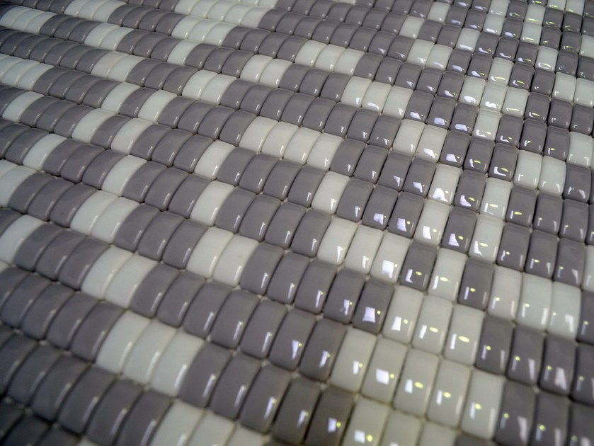 Glass mosaic LOUISE GREY - Mosaico+