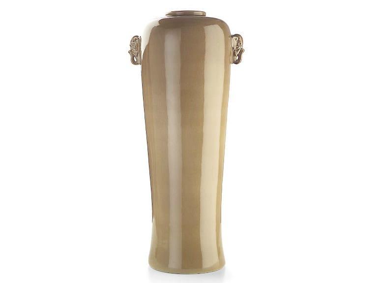 Ceramic vase Vase with elephants - MARIONI
