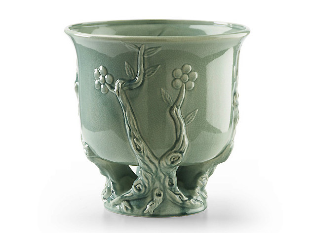 Ceramic plant pot PEKING | Plant pot - MARIONI