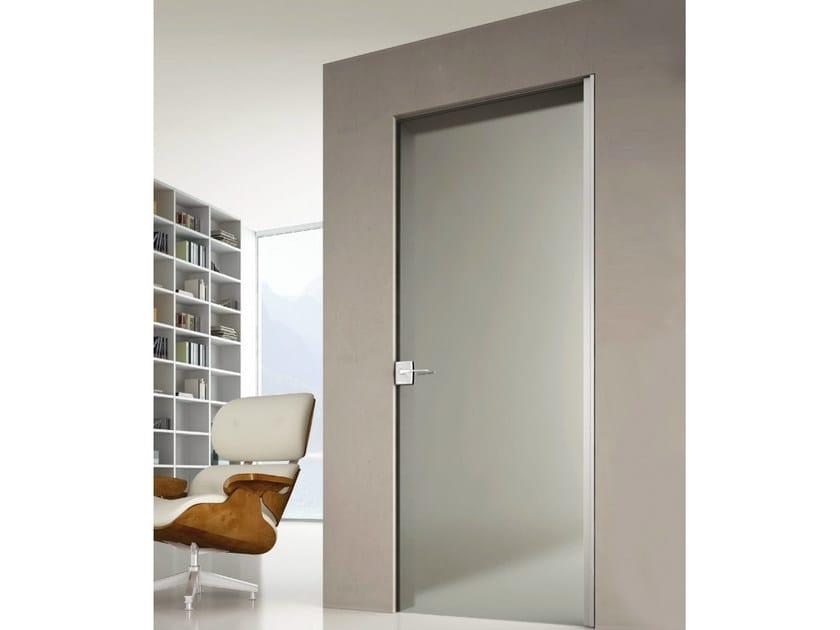 Glass door lock P-09 | Lock - Metalglas Bonomi