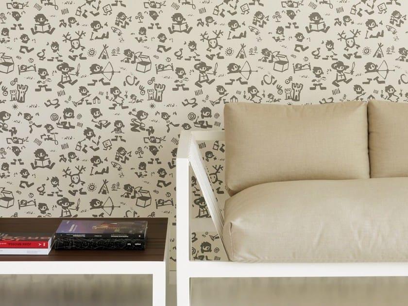 Nonwoven wallpaper NIN by Equipo DRT
