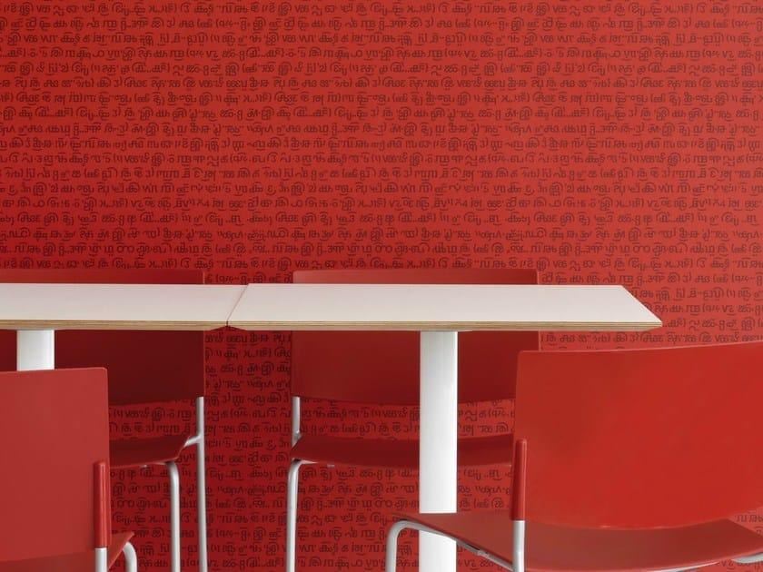 Writing nonwoven wallpaper KATMANDÙ - Equipo DRT
