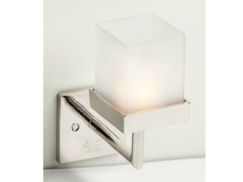 Wall-mounted metal candle holder 10682 | Metal candle holder - Dauby