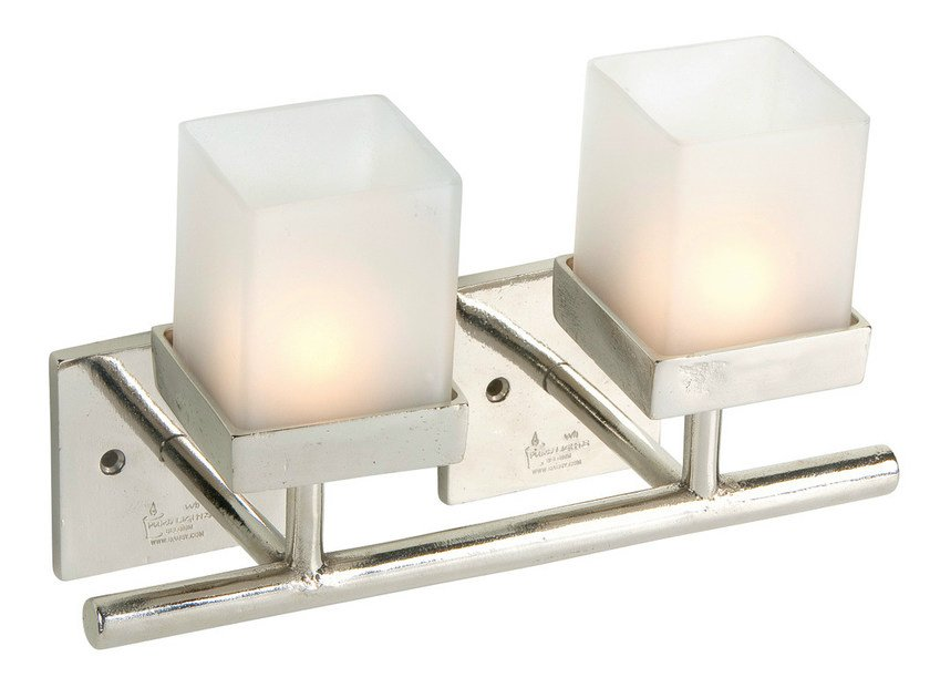 Wall-mounted metal candle holder 10719 | Metal candle holder - Dauby
