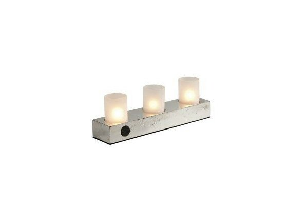 Contemporary style metal candle holder 10669 | Metal candle holder - Dauby