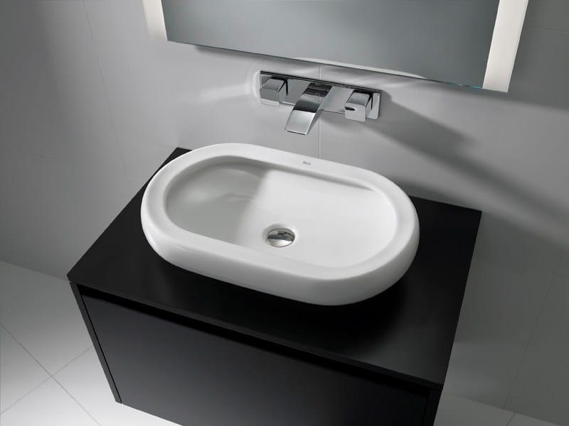 Countertop washbasin ART 60 - ROCA SANITARIO