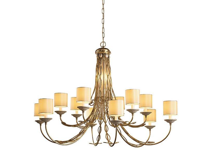 Metal chandelier SOFT | Chandelier - MARIONI