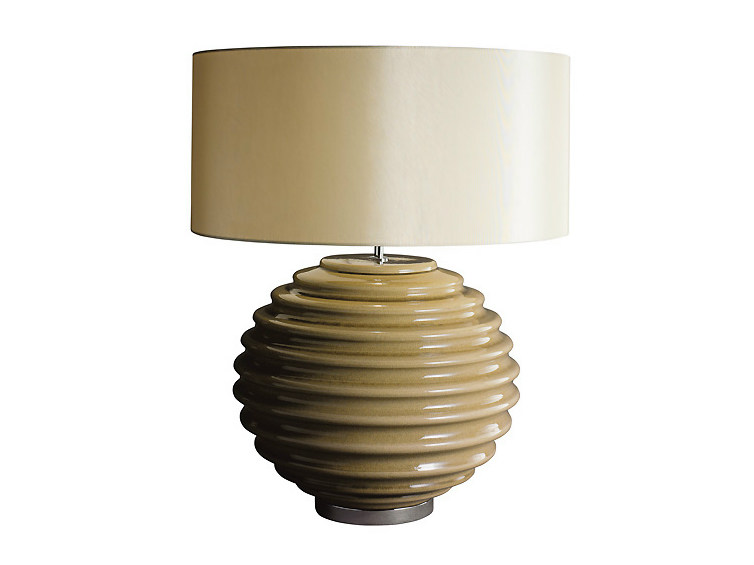 Ceramic table lamp LUCY | Table lamp - MARIONI