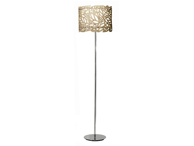 Metal floor lamp LEAF | Floor lamp - MARIONI