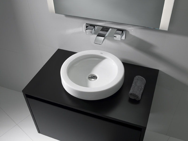 Countertop washbasin ORBITA 42 - ROCA SANITARIO