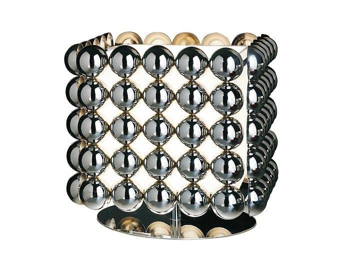 Metal table lamp BUBBLE (5X5) | Table lamp - MARIONI