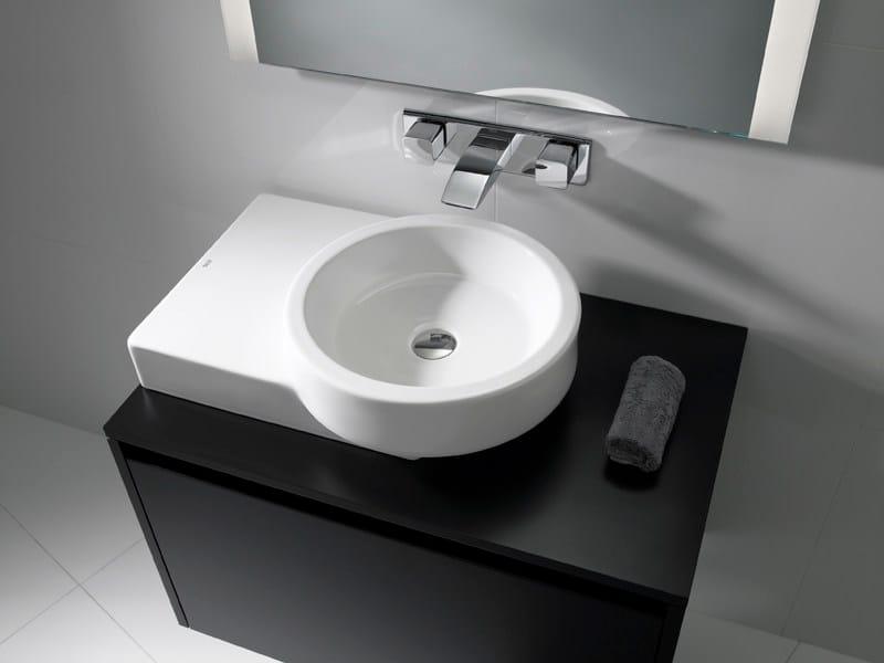 Countertop washbasin POST - ROCA SANITARIO
