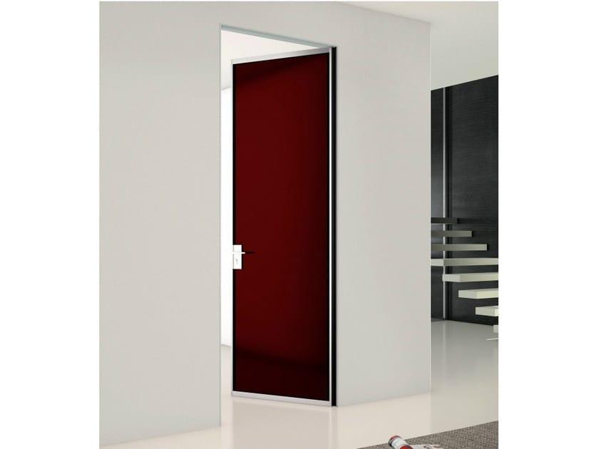 Wooden counter frame for flush-fitting doors P-070 - Metalglas Bonomi