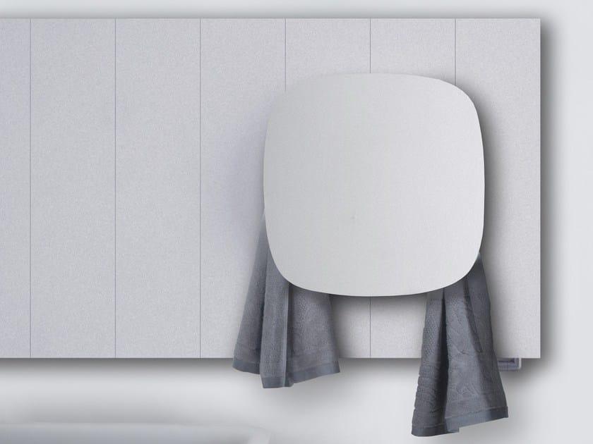 Dual energy aluminium towel warmer SQUARE   Radiator - mg12