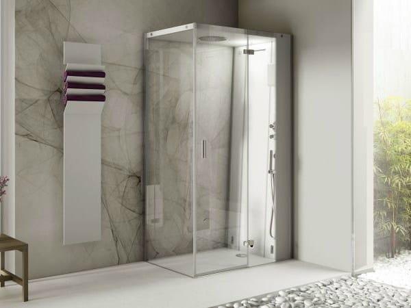 Box doccia con bagno turco CLOUD 100 - Jacuzzi Europe