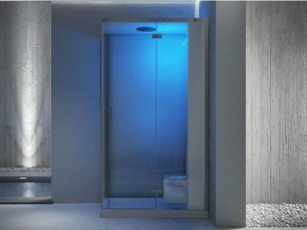 Box doccia con bagno turco cloud 100 jacuzzi europe - Doccia con bagno turco ...