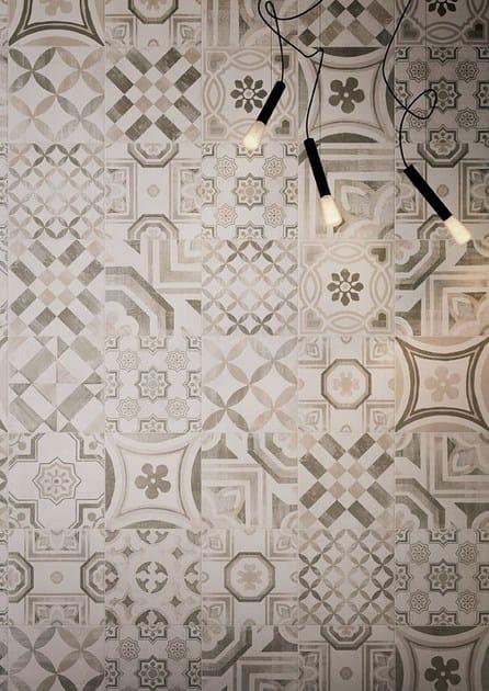 Pavimento rivestimento in gres porcellanato cementine warm ceramiche keope - Piastrelle cementine ...