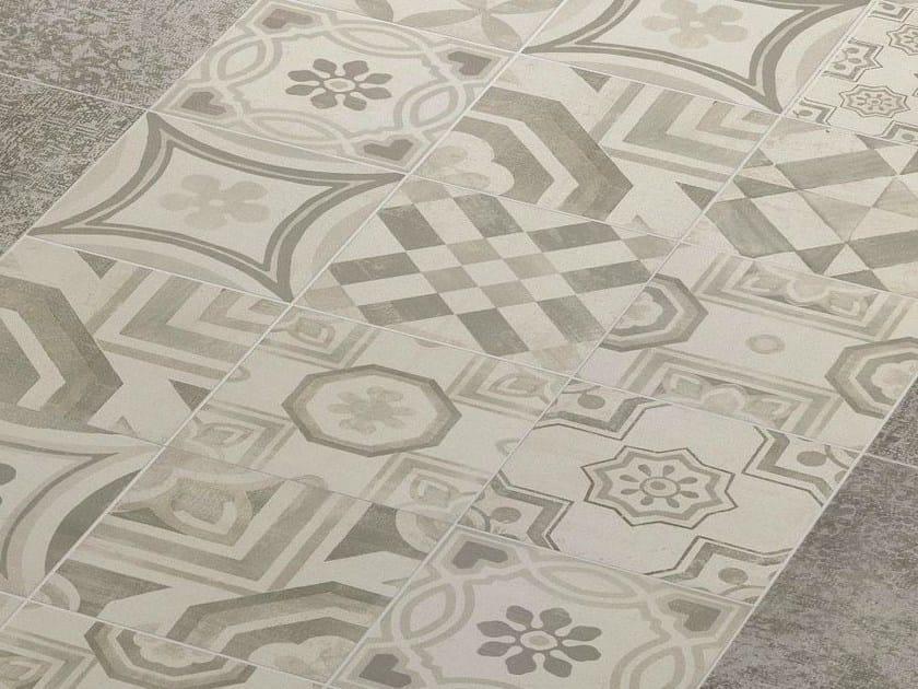 Pavimento in gres porcellanato CEMENTINE COLD by CERAMICHE ...