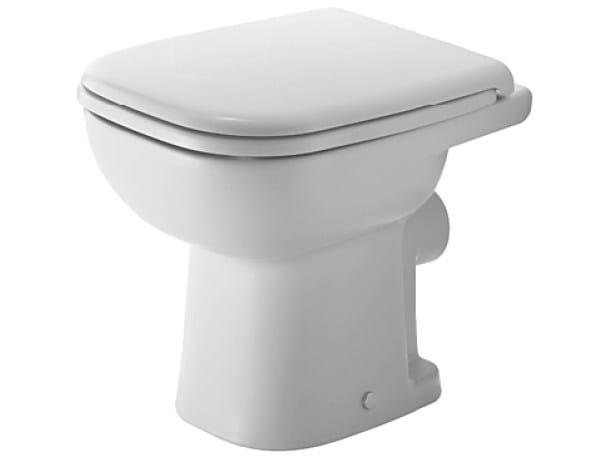Ceramic toilet D-CODE | Toilet - DURAVIT