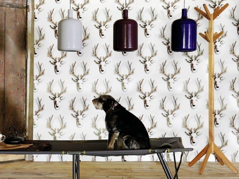Indoor polyethylene wall tiles RUDOLF by Élitis