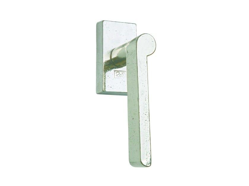 Metal window handle PH 1928 DKQ | Window handle by Dauby