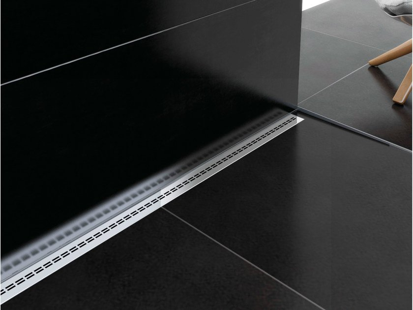 Stainless steel shower channel SMART DRAIN DOUBLE LINE by PROFILPAS